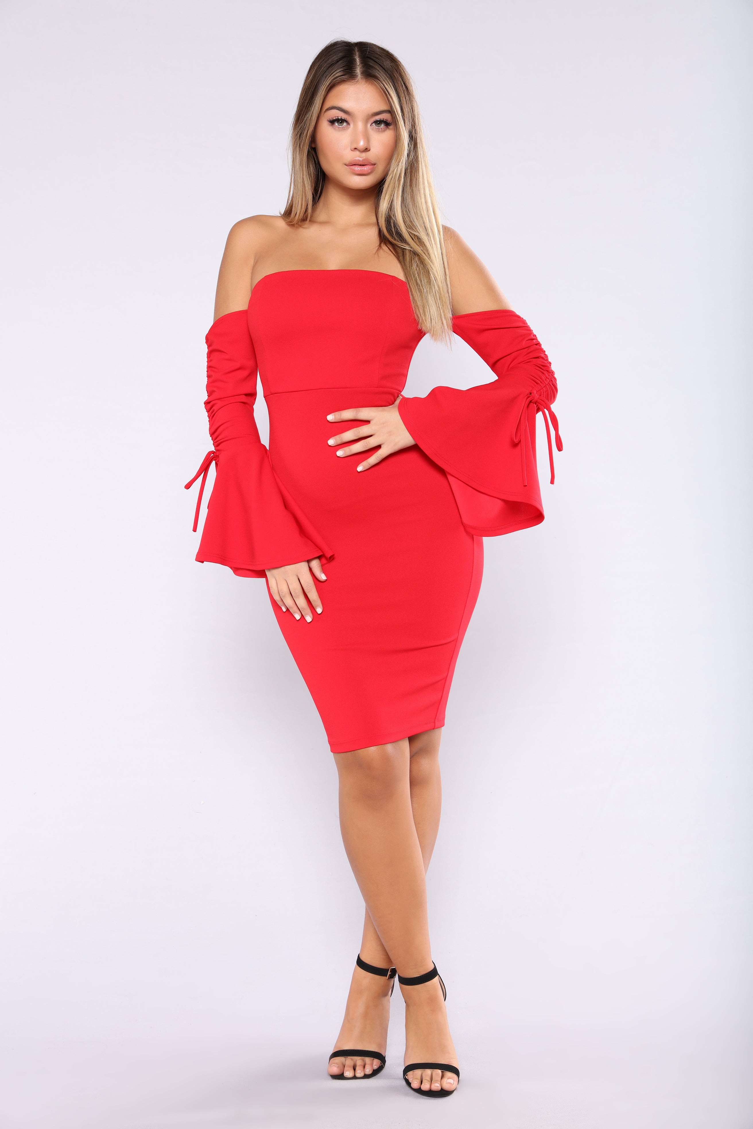 Cannes Festival Dress - Red