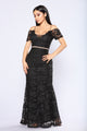 Mermaid Dreams Dress - Black