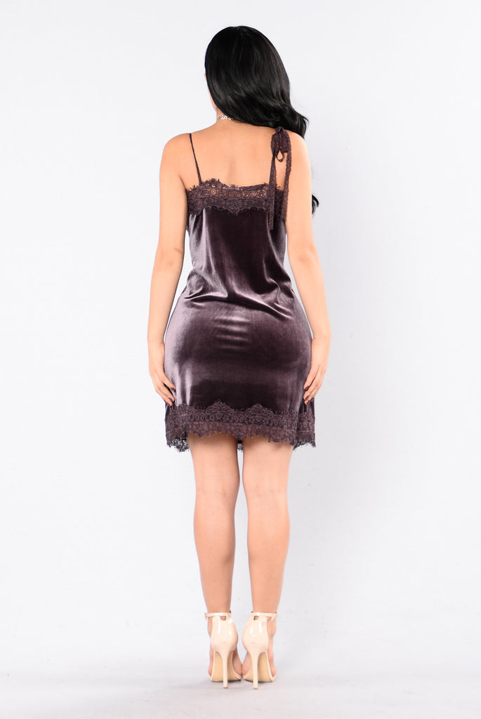 Old Romantics Dress - Dark Mauve