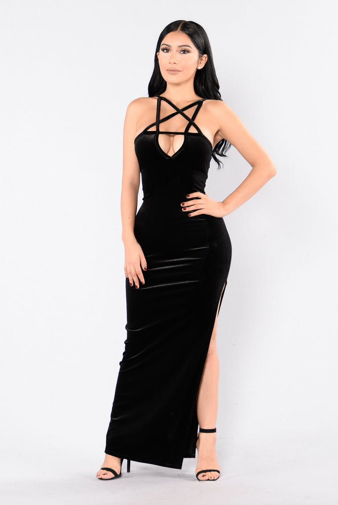 Bad Influence Dress - Black