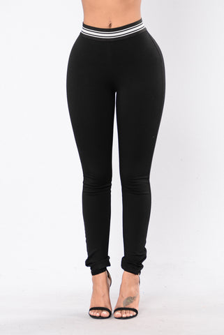 Say You Love Me Pants - Black