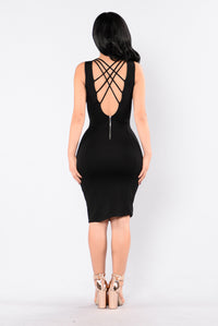 About That Life Dress - Black