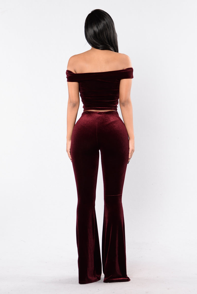 Jealous Set - Burgundy
