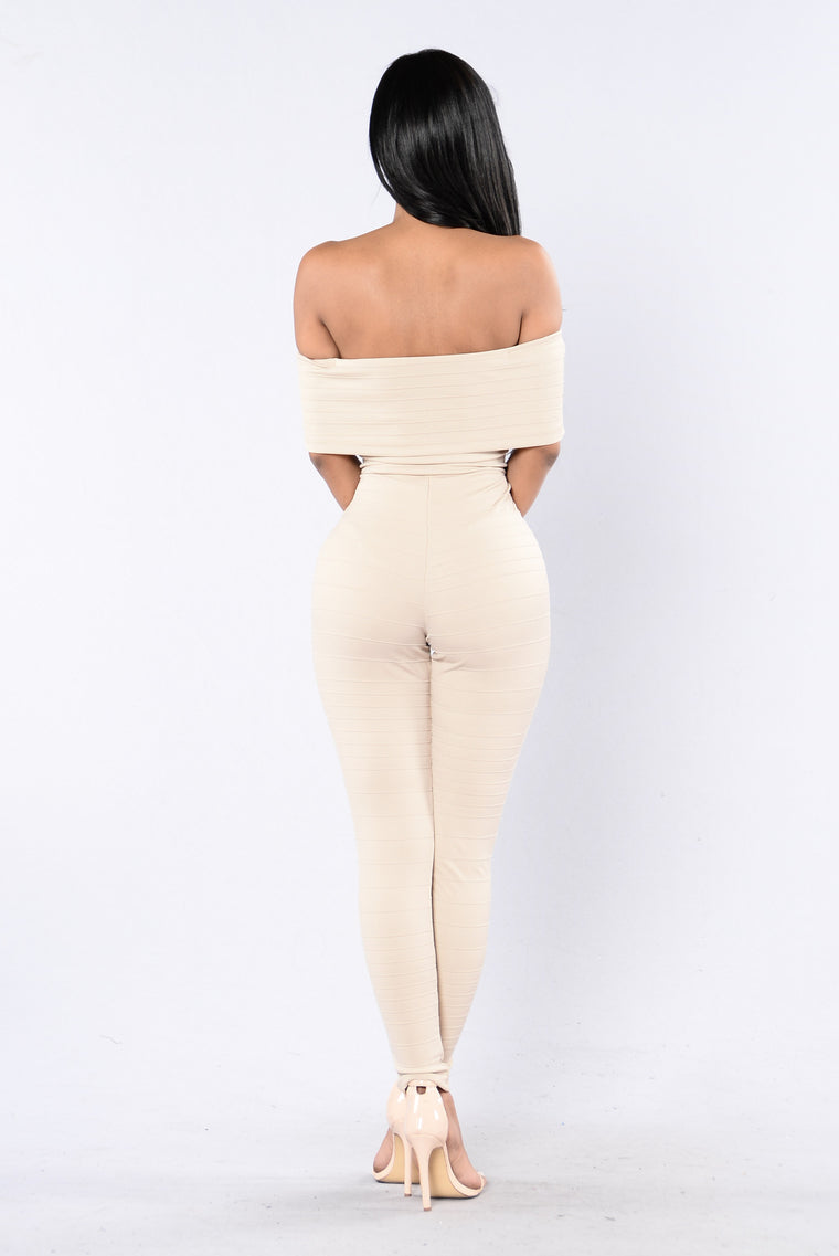 Just Right Jumpsuit - Nude