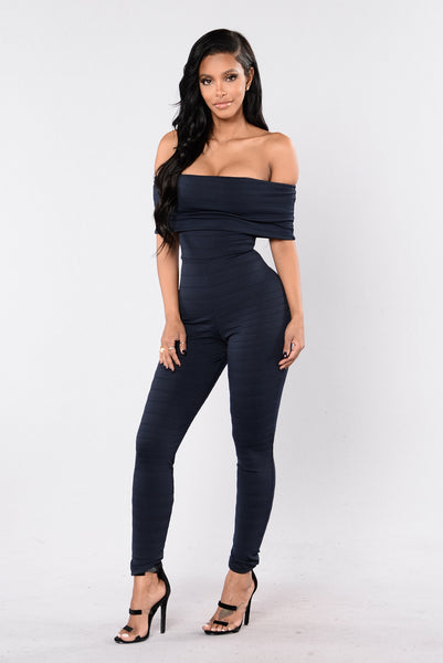 Just Right Jumpsuit - Navy