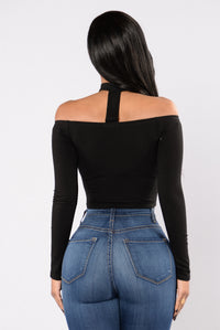 Bare It All Top - Black