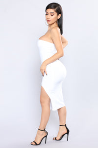 Stephanie Tube Dress - White