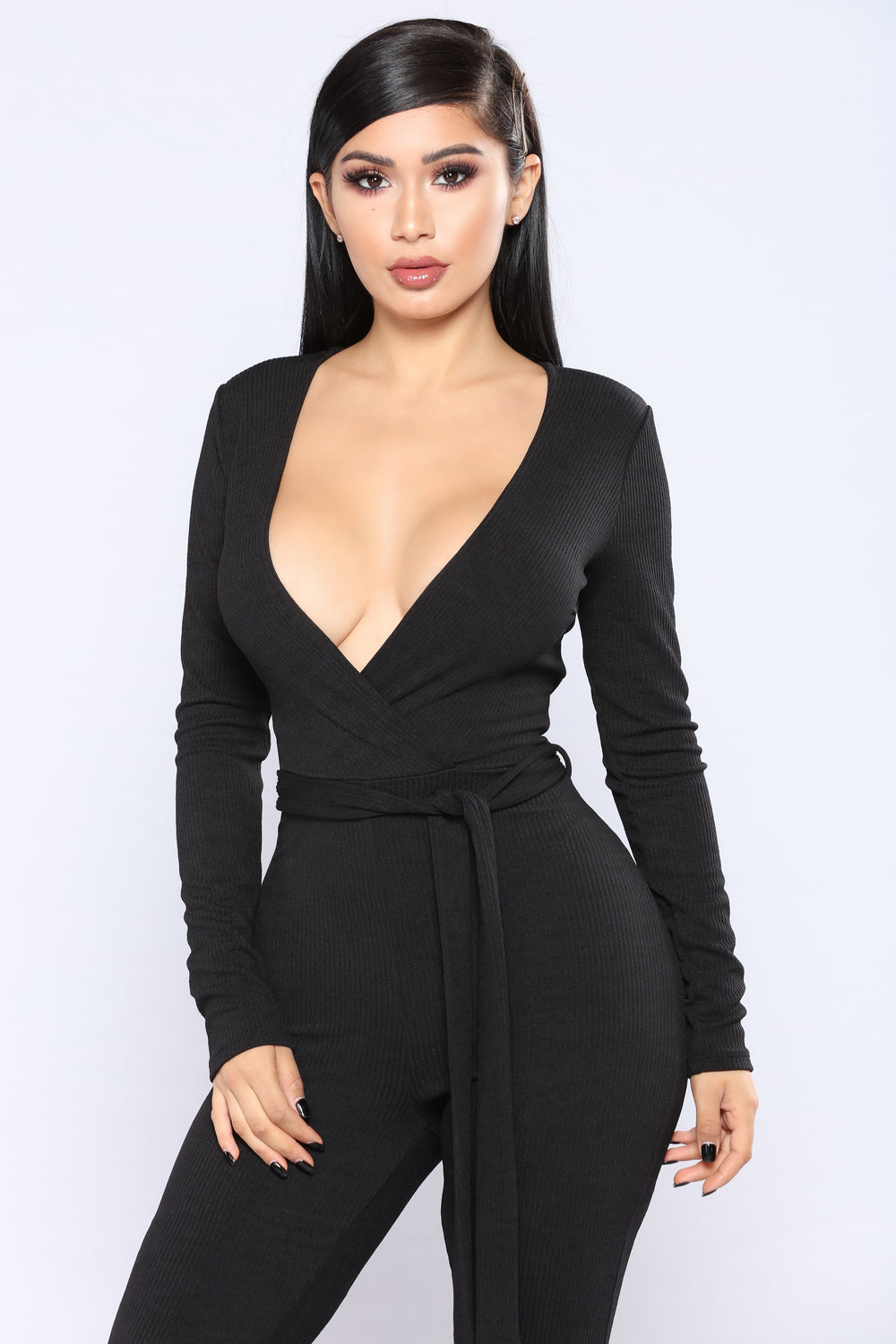 A Perfect Fit Jumpsuit - Black