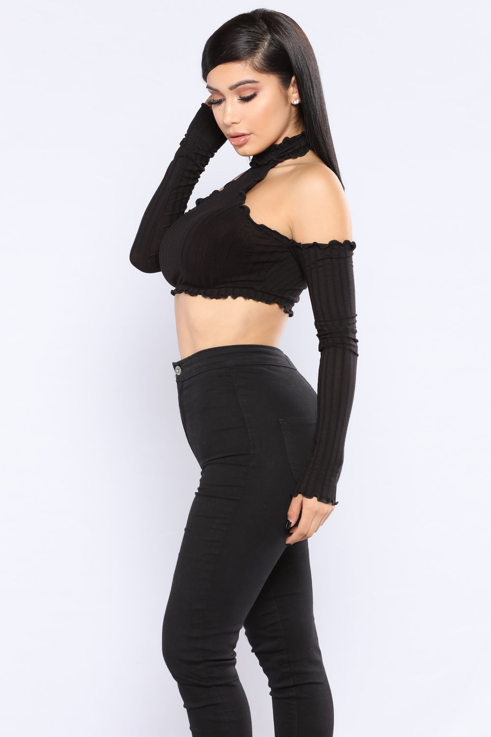 Cream Of The Crop Top - Black