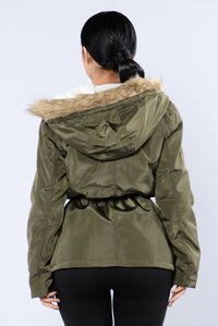 Weekend In The Woods Jacket - Olive