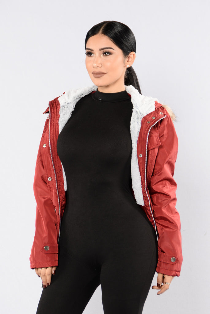 Weekend In The Woods Jacket - Red