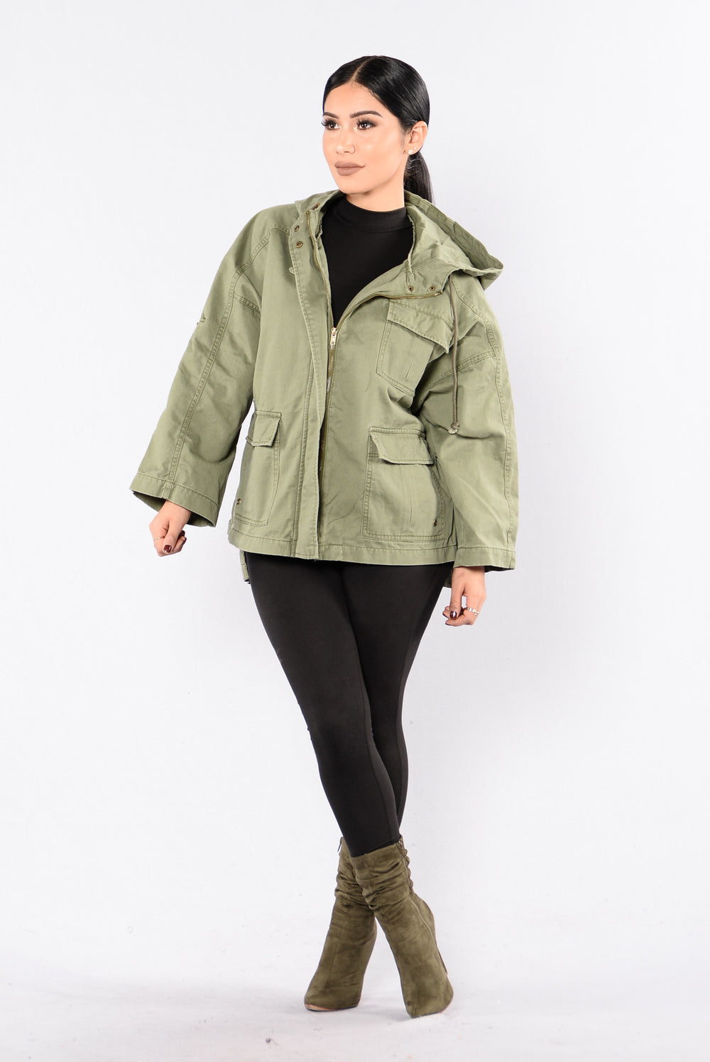 Very Military Jacket - Olive