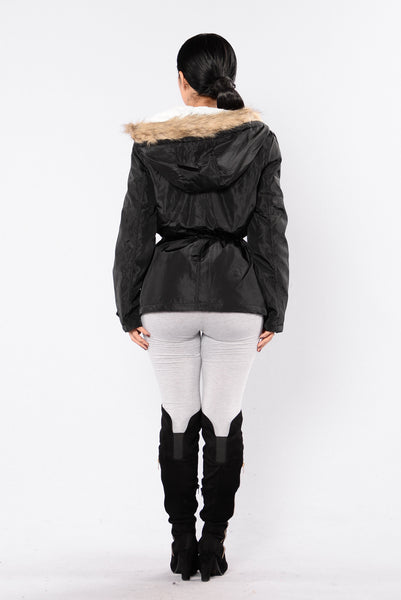 Weekend In The Woods Jacket - Black