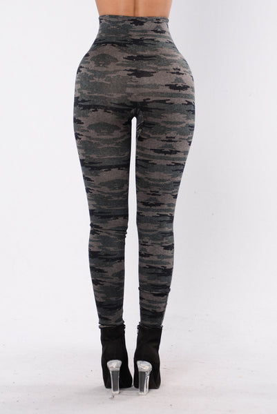 Waves of Change Leggings - Camo