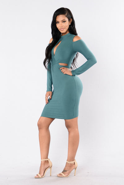 Vision Of Love Dress - Hunter