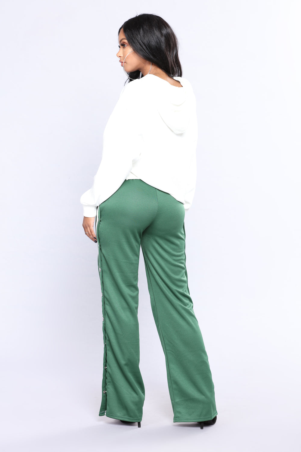 Playa Hatin' Pants - Green/White