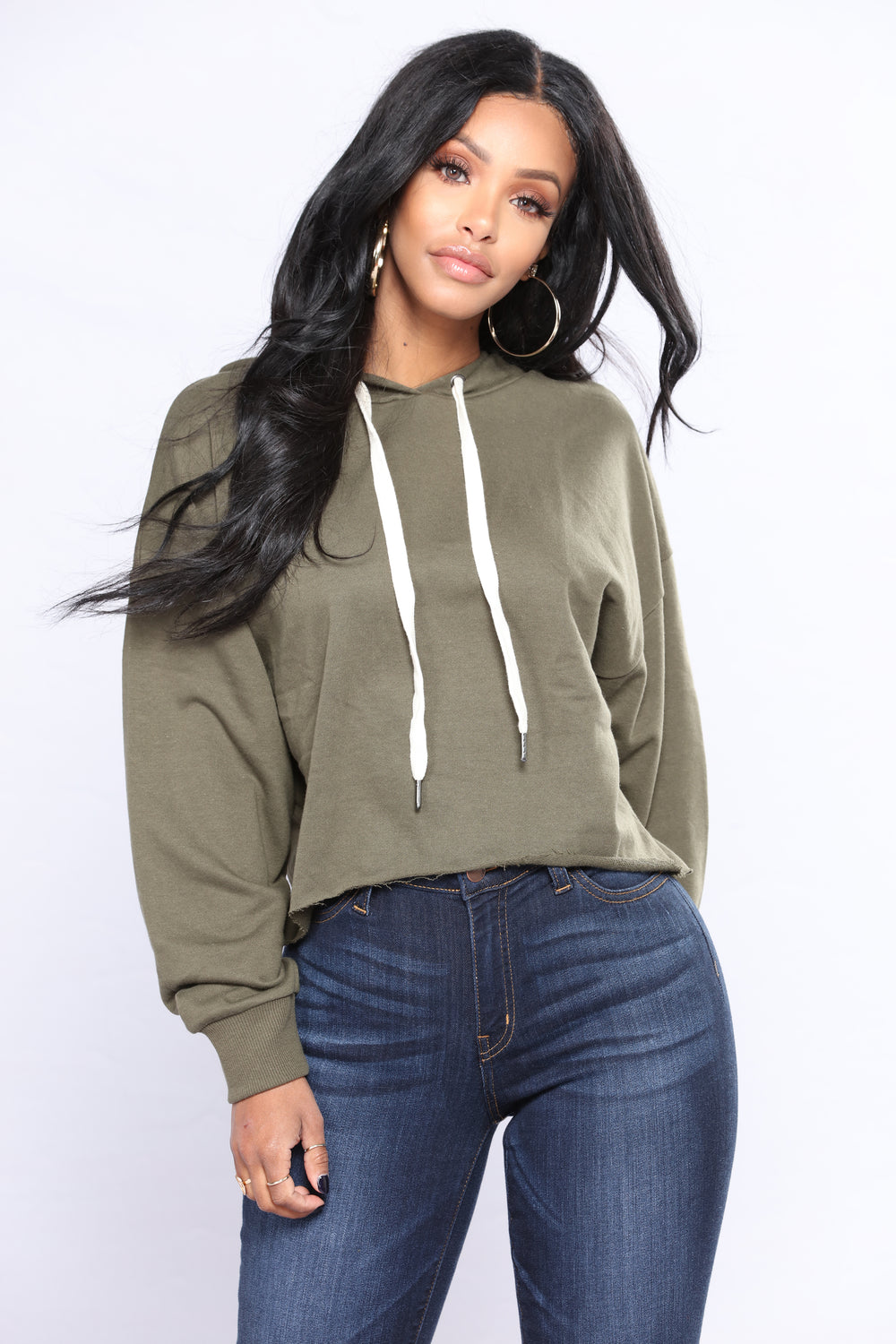Almost Everyday Hoodie - Olive