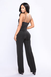 Stacey Jumpsuit - Black