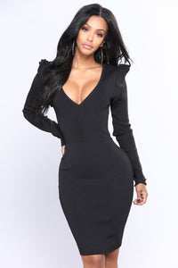 Laurentine Dress - Black