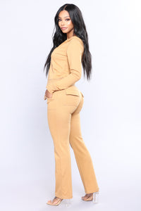 Easy Breezy Lounge Set - Mustard