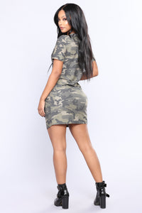 Young Cadet Camouflage Tunic - Camo