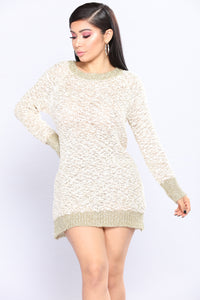 In The Spirit Sweater - Gold