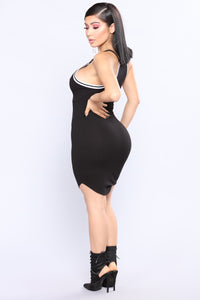 Shirley Tank Dress - Black