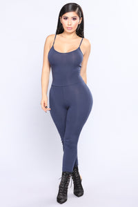 This Season Jumpsuit - Navy