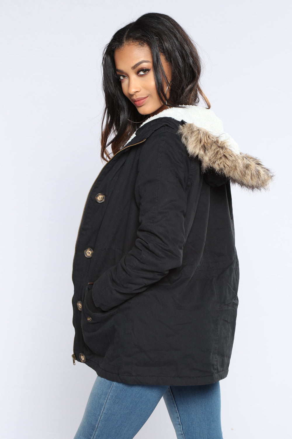 For The Chills Jacket - Black