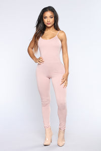 This Season Jumpsuit - Mauve
