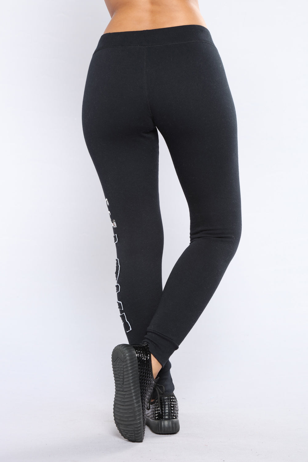 Be My Lover Lounge Joggers - Black