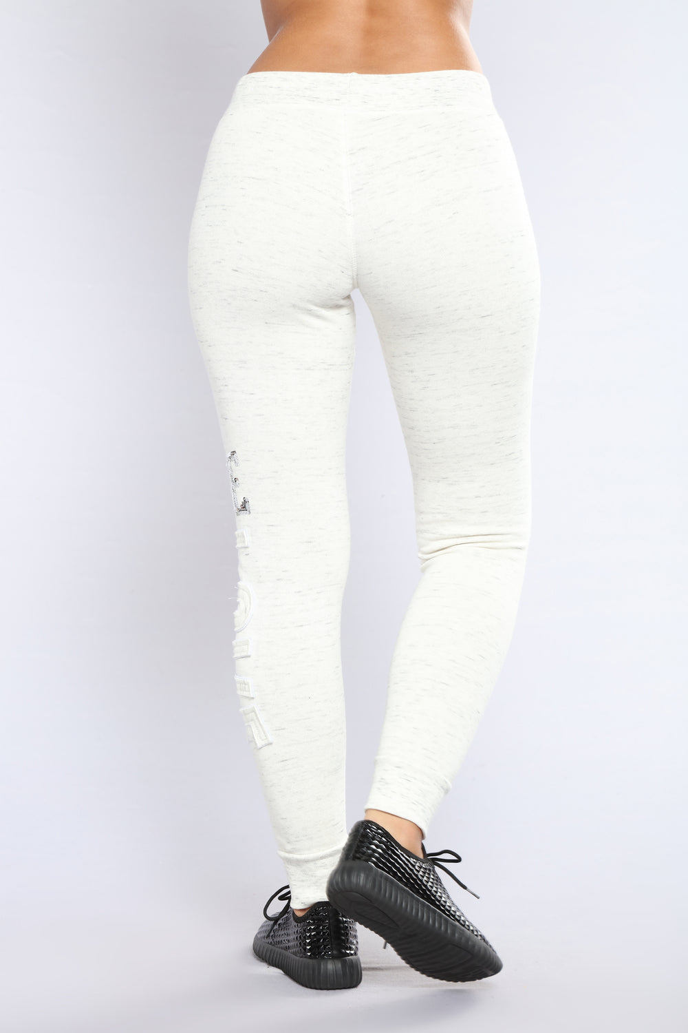 Be My Lover Lounge Joggers - Marled Oatmeal
