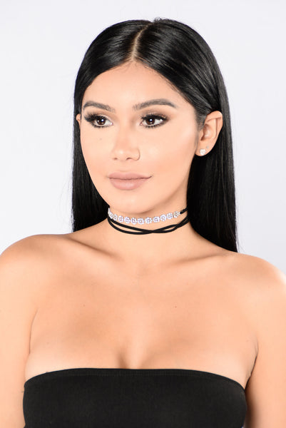 Wrap Things Up Choker - Silver