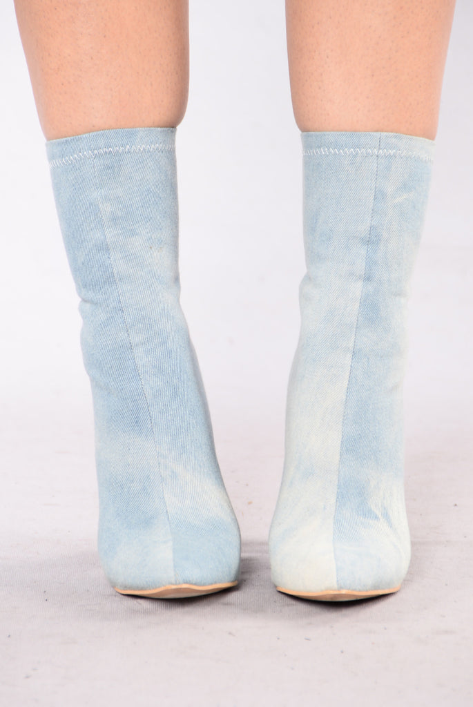 From The 90s Boot - Denim