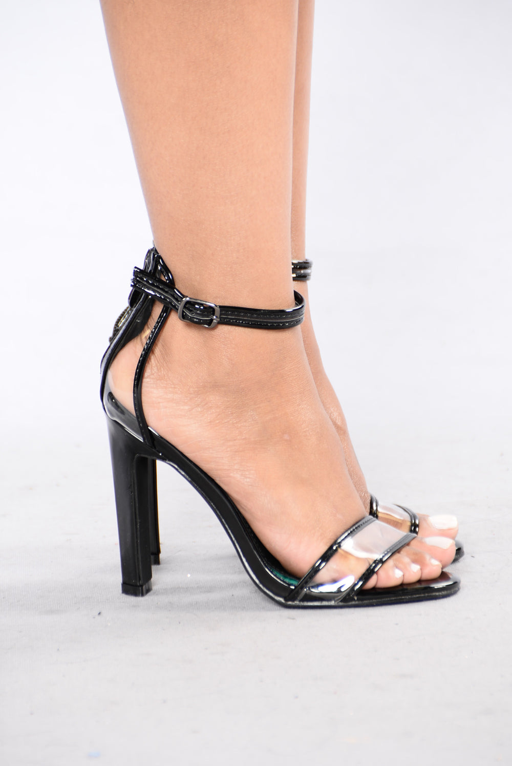 Do Something About It Heel - Black