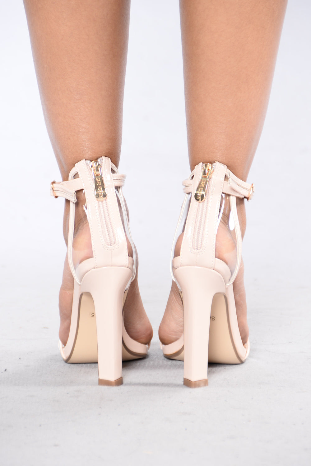 Do Something About It Heel - Nude