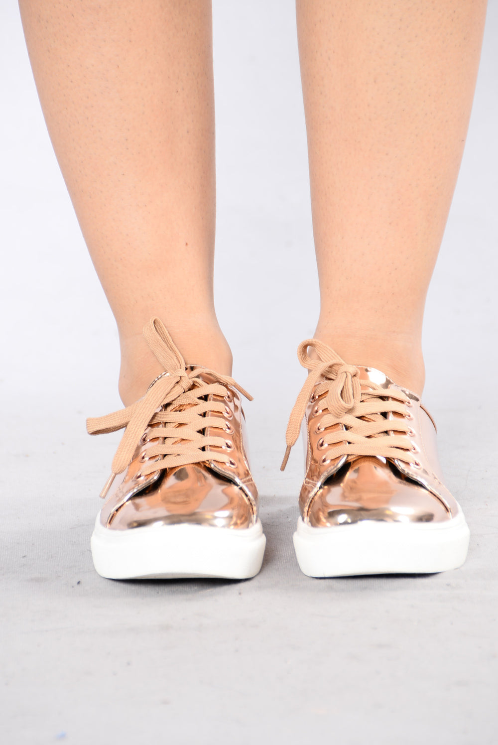 Just Like You Sneaker - Rose Gold