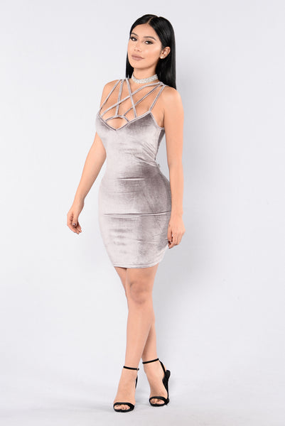 Make It Last Forever Dress - Gunmetal