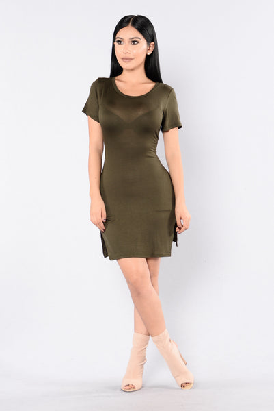 No Way Tunic - Olive