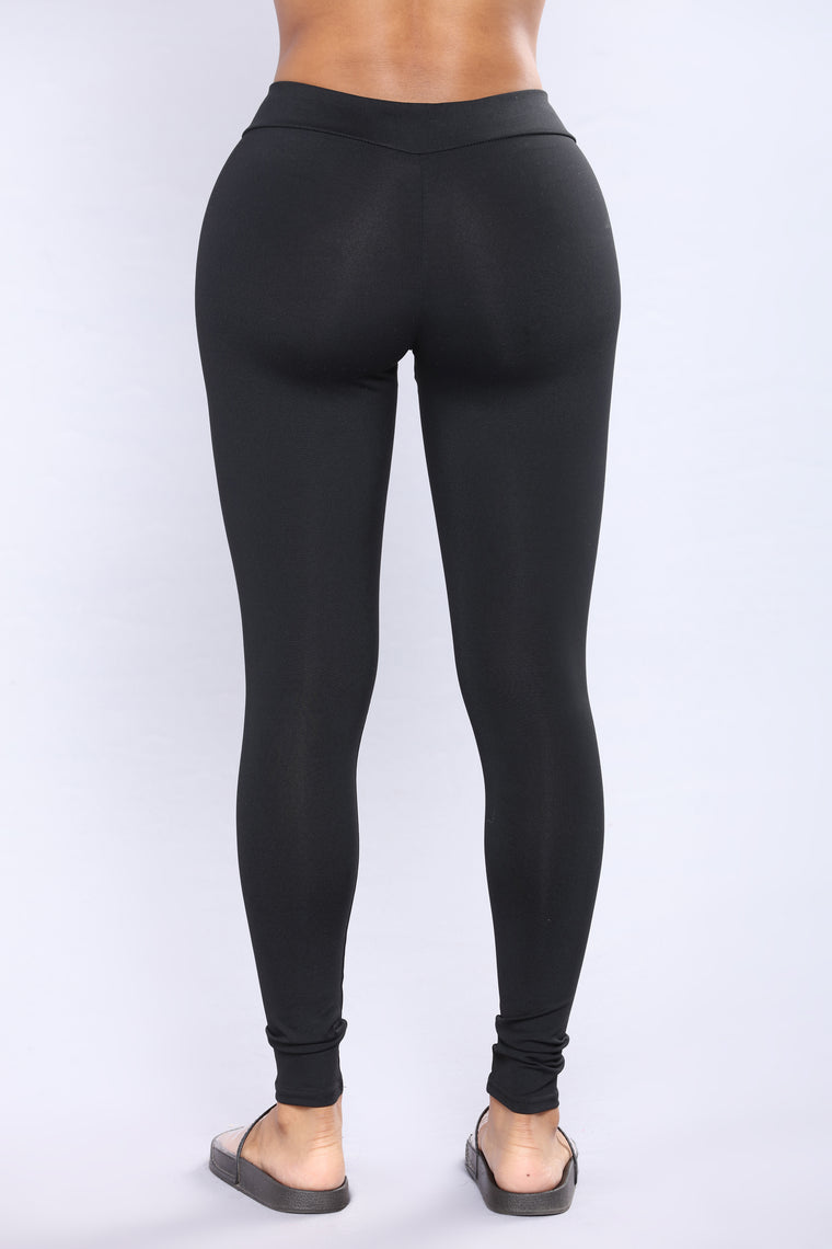 Jemma Booty Lifting Active Leggings - Black