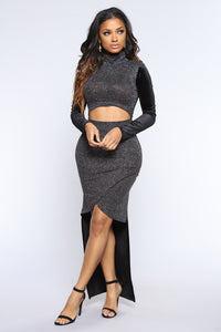 Hometown Glory Dress - Black