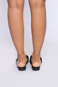 Cacey Flat - Black Angle 7