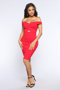 Never Crossed My Mind Dress - Red