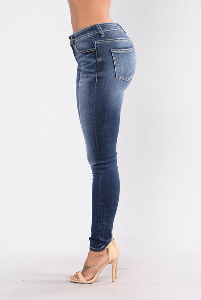 Epic Proportions Jeans-Dark Blue