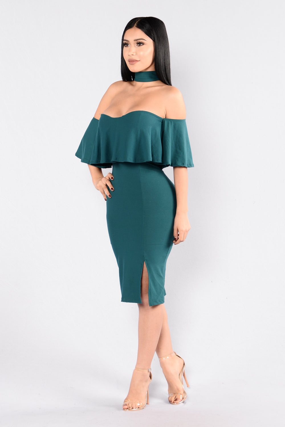 Lost In Love Dress - Jade