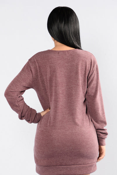 Kelso Top - Red Brown