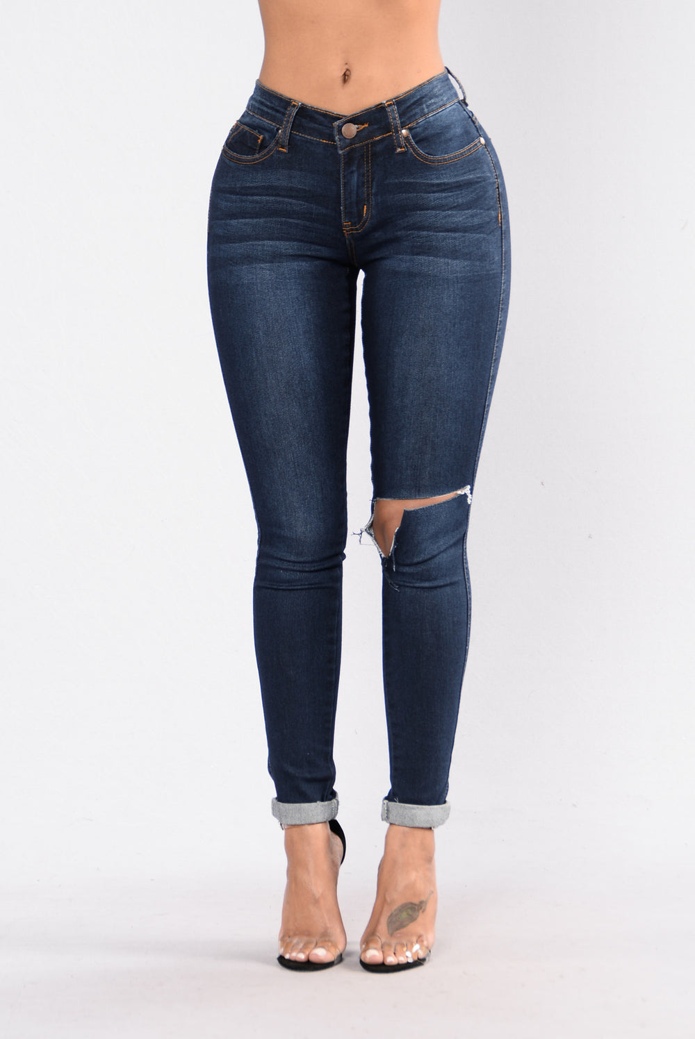 Ready For The Weekend Jeans - Dark