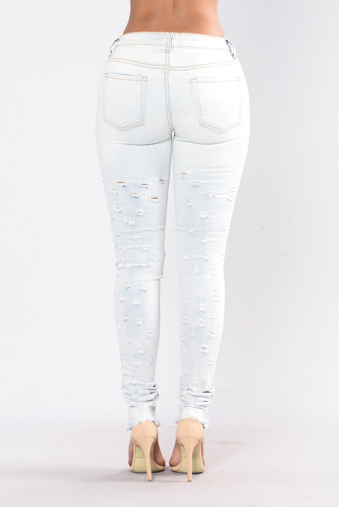 Connect The Dots Jeans - Light Blue
