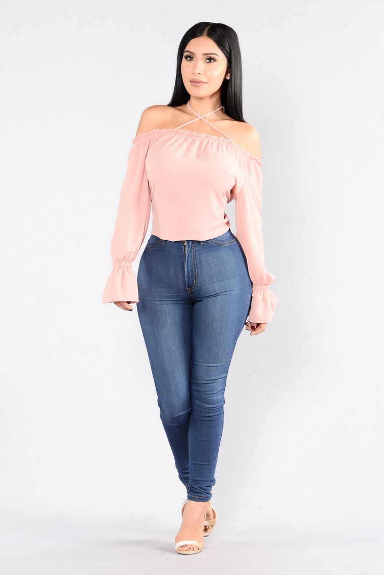 Cubana Top - Blush