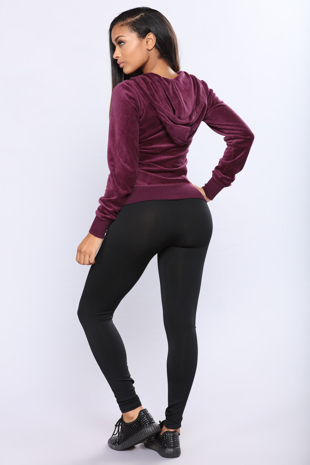Lolita Active Yoga Leggings - Black